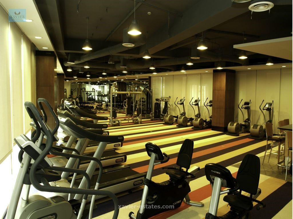 manansala units for rent gym